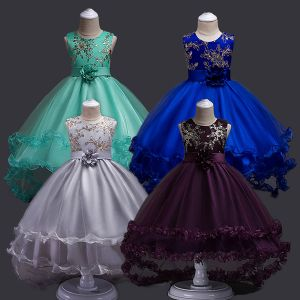 Party dress anak tulle B2W2 silver